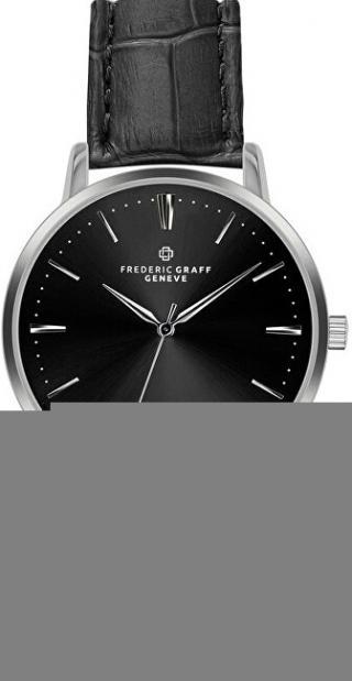 Frederic Graff Damavand Croco Black Leather FCN-B001S