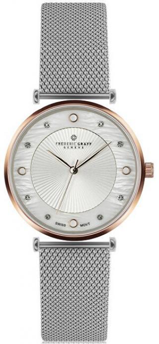 Frederic Graff Rose Jungfrau Lychee Silver Mesh FBS-2518