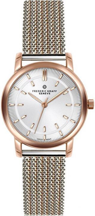 Frederic Graff Sitamma Konda Two Tones Mesh Watch FCO-2718