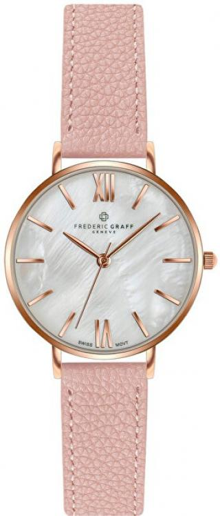 Frederic Graff Trivor Lychee Pink Leather Strap FCF-B035R