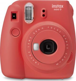 FujiFilm Instax mini 9 Poppy Red - zánovní