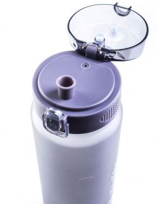 G21 Láhev na pití 1000 ml šedá-zmrzlá - zánovní