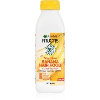 Garnier Fructis Banana Hair Food vyživující kondicionér pro suché vlasy 350 ml