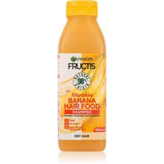 Garnier Fructis Banana Hair Food vyživující šampon pro suché vlasy 350 ml