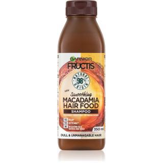 Garnier Fructis Macadamia Hair Food regenerační šampon pro poškozené vlasy 350 ml