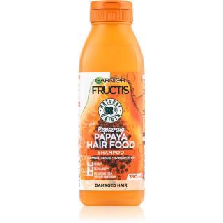 Garnier Fructis Papaya Hair Food regenerační šampon pro poškozené vlasy 350 ml
