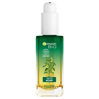 Garnier Multi-regenerační noční olej s bio konopným olejem BIO  30 ml