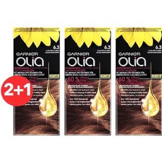 GARNIER Olia 6.3 Zlatá světle hnědá 3 × 50 ml