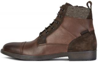 Geox pánská kotníčková obuv Jaylon U94Y7J 04623 42 hnědá - zánovní