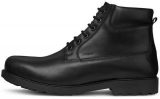Geox pánská kotníčková obuv Rhadalf U845HF 00045 43.0 černá - zánovní