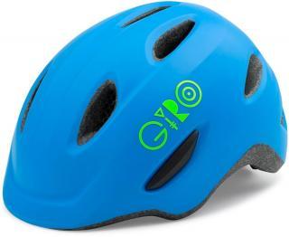 Giro Scamp Mat Blue/Lime XS 45–49 cm - rozbaleno