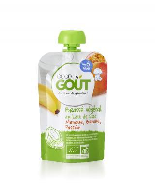 Good Gout BIO Kokosový jogurt s mangem, banánem a marakujou 90g