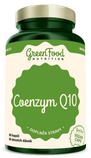 GreenFood Coenzym Q10 60 kapslí