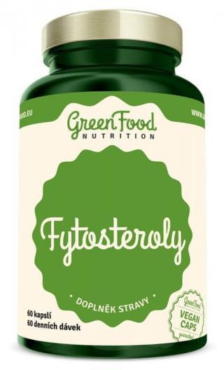 GreenFood Fytosteroly 60 kapslí