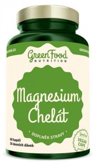 GreenFood Magnesium Chelát 60 kapslí