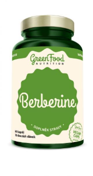 GreenFood Nutrition Berberine Hcl 60cps