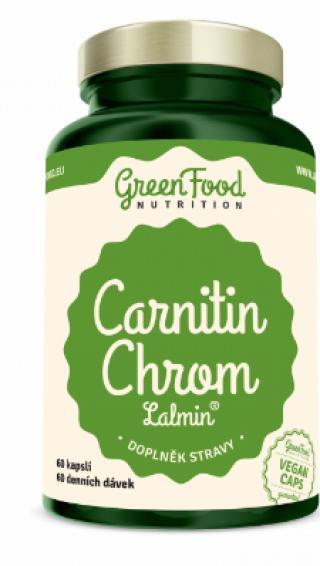 GreenFood Nutrition Carnitin Chrom Lalmin 60cps