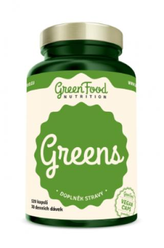 GreenFood Nutrition Greens 120cps
