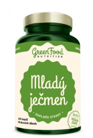 GreenFood Nutrition Mladý ječmen 120cps