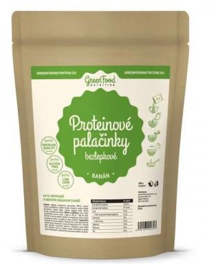 GreenFood Nutrition Proteinové palačinky bezlepkové banán 500g