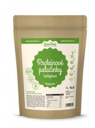 GreenFood Nutrition Proteinové palačinky bezlepkové borůvka 500g