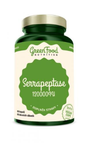 GreenFood Nutrition Serrapeptase 120000IU 60cps