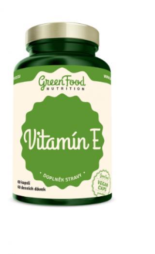 GreenFood Nutrition Vitamín E 60cps