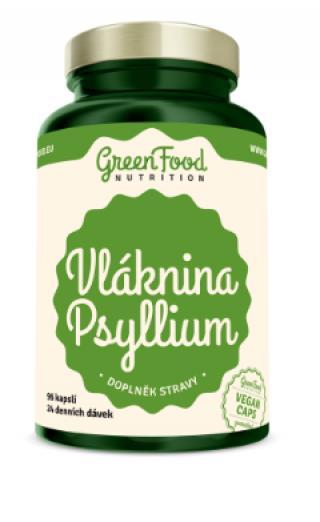 GreenFood Nutrition Vláknina Psylium 96cps