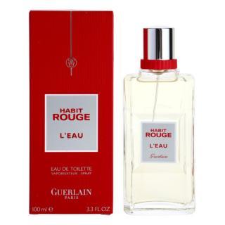 Guerlain Habit Rouge LEau toaletní voda pro muže 100 ml
