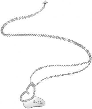 Guess Dlouhý náhrdelník s motýlkem UBN83020