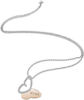 Guess Dlouhý náhrdelník s motýlkem UBN83022