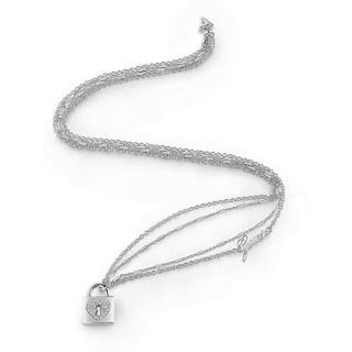 Guess Dlouhý náhrdelník s visacím zámkem UBN85062