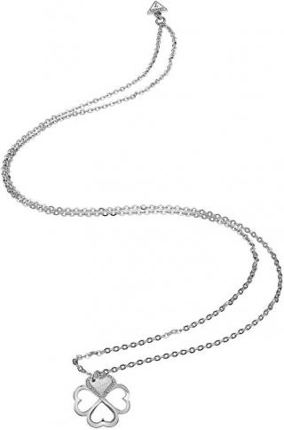 Guess Dlouhý náhrdelník se čtyřlístkem UBN83000