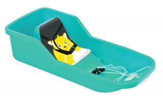 HAMAX Sněžný bob Baby Bob - tyrkysový
