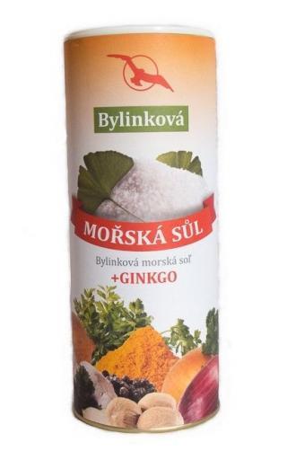 Hannasaki Mořská sůl bylinková   ginkgo 125 g