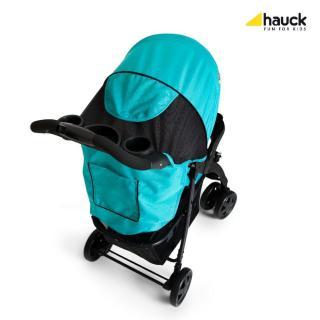 Hauck Shopper Neo II 2020, Caviar/aqua - zánovní