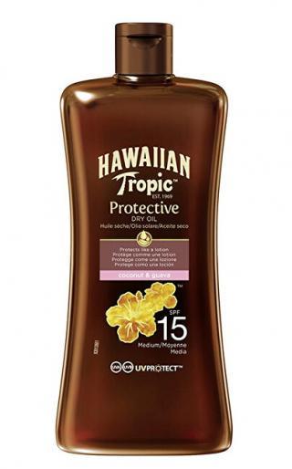 Hawaiian Tropic Suchý olej na opalování SPF 15 Hawaiian Tropic  100 ml