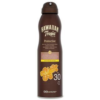Hawaiian Tropic Suchý olej na opalování SPF 30 Protective  177 ml