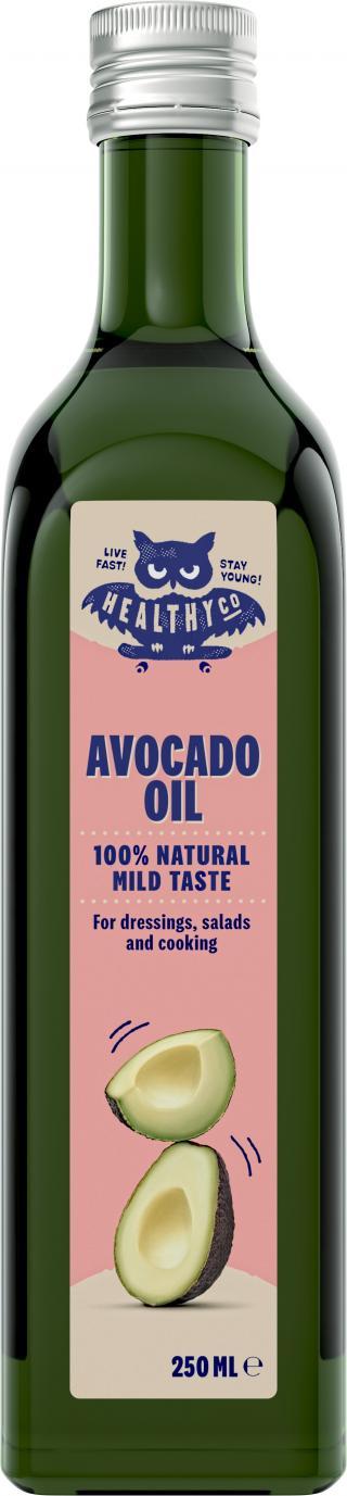 HealthyCo Avokádový olej,250ml