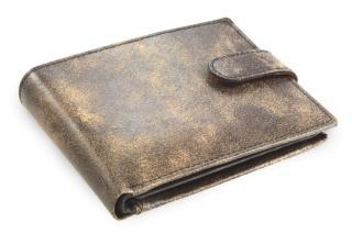 Hnědá pánská kožená peněženka Adrien
