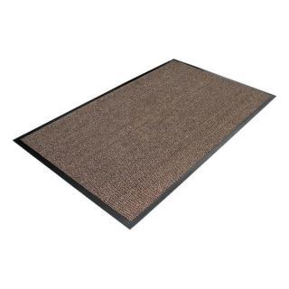 Hnědá Textilní Čistící Vnitřní Vstupní Rohož - 150 X 90 Cm