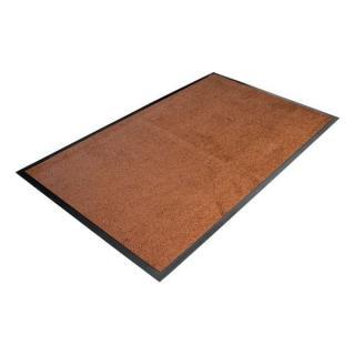 Hnědá Textilní Čistící Vnitřní Vstupní Rohož - 150 X 90 X 0,7 Cm
