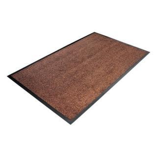 Hnědá Textilní Čistící Vnitřní Vstupní Rohož - 150 X 90 X 0,8 Cm
