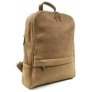 Hnědý moderní dámský batoh Abril