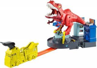 Hot Wheels City T-Rex řádí