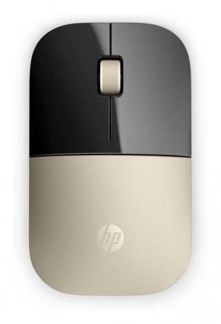 HP Z3700 bezdrátová myš, zlatá  - rozbaleno