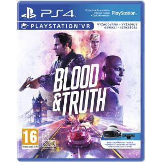 Hra 2K Games PlayStation 4 Blood and Truth VR