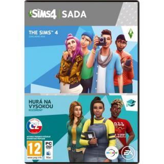 Hra EA The Sims 4 Základní hra   Hurá na vysokou