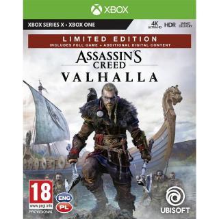 Hra Ubisoft Xbox One Assassins Creed Valhalla Limited Ed.