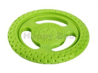 Hračka KIWI WALKER guma TPR - Lets play! Frisbee Mini zelená 2,